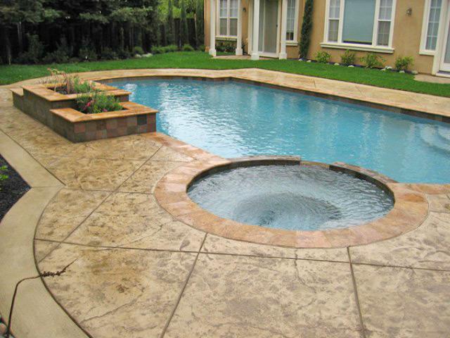 Pool Level Spa