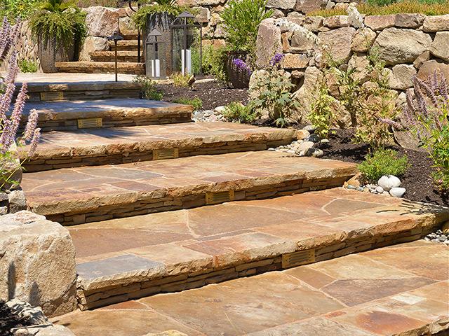 Stone Stairways & Paving