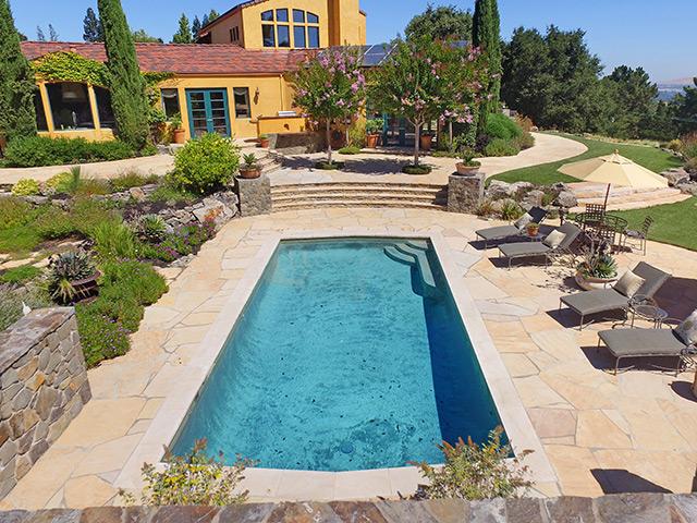 Stone Tile Pool
